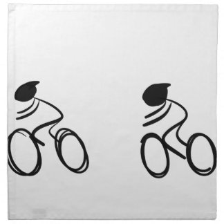 Bike race napkin