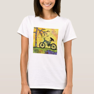 Bike & Raven T Shirt A Spectacular Day for a Ride