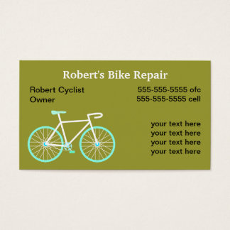 Bike Repair Services Business Card