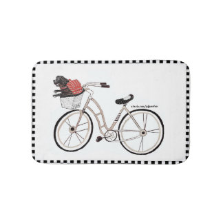 Bike Ride Bathmat