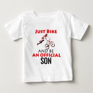 bike rider son baby T-Shirt