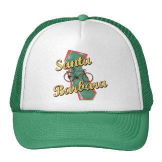 Bike Santa Barbara Bicycle California Mesh Hat