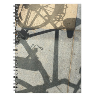 Bike Shadow Notebook