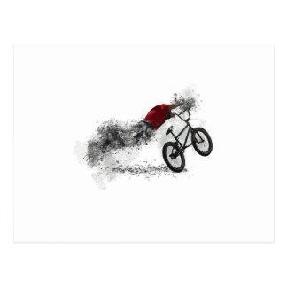 Bike Sport BMX Postcard