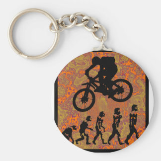 Bike Start Up Key Ring
