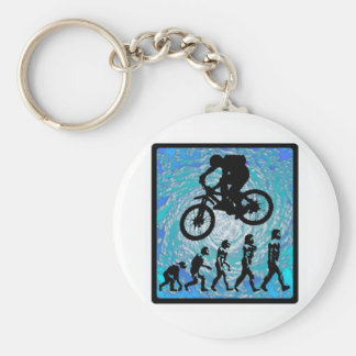 Bike STEEP TREND Basic Round Button Key Ring