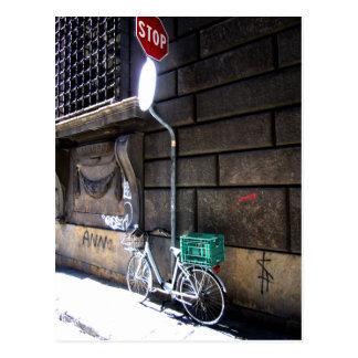 Bike Stop Postcard