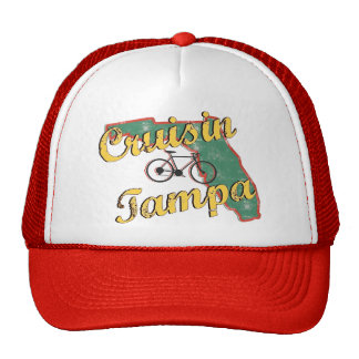 Bike Tampa Bicycle Florida Hat