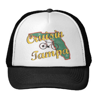 Bike Tampa Bicycle Florida Mesh Hats