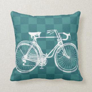 Bike to the Future Cushion