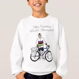 Bike Touring World Champion With Rainbow Jersey Sweatshirt
