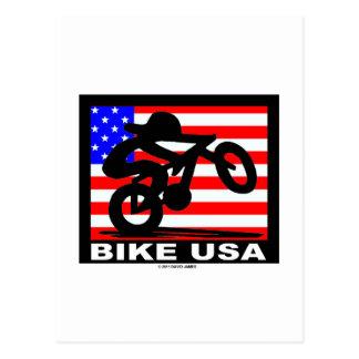 Bike USA Postcard