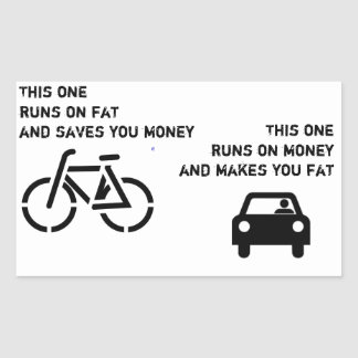 Bike vs Car Sticker