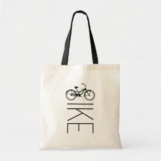 Bike Womens Bicycle Budget Tote Bag