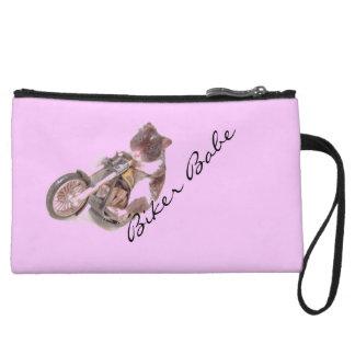 biker babe wristlet