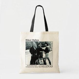 Biker Babes Tote Bags