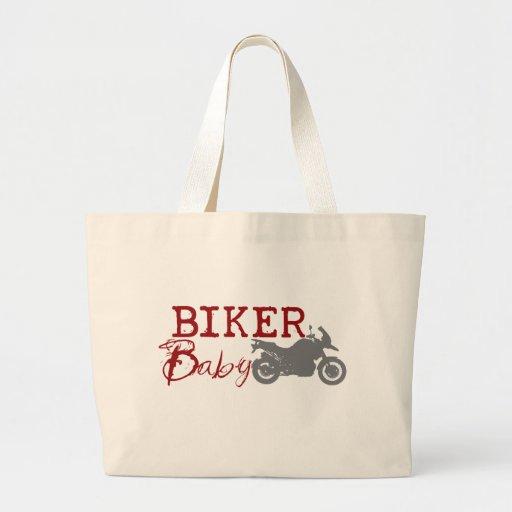 Biker Baby Tote Bag