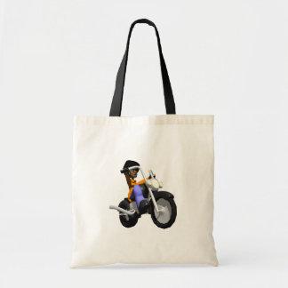 Biker Canvas Bag