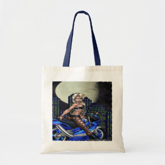 Biker Chick - Budget Tote Tote Bag