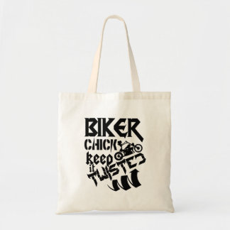 Biker Chick Keep It Twisted Tote