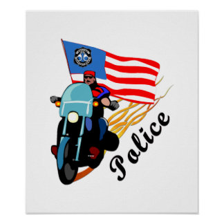 Biker Cops Poster