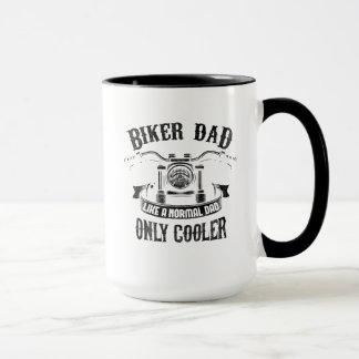 Biker Dad Like A Normal Dad Only Cooler Mug
