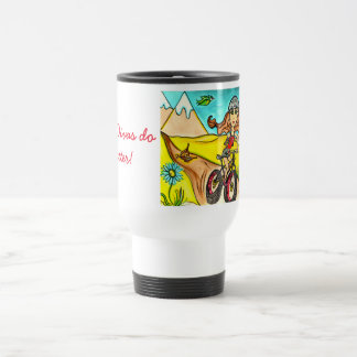 Biker Divas do it better! coffee mug