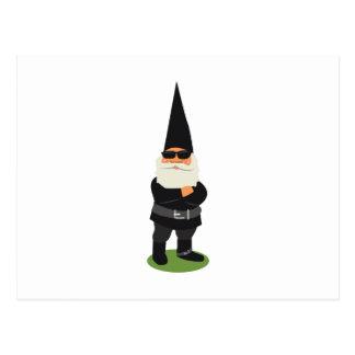 Biker Gnome Postcard