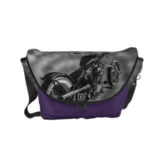 biker groove Small Rickshaw Messenger Bag
