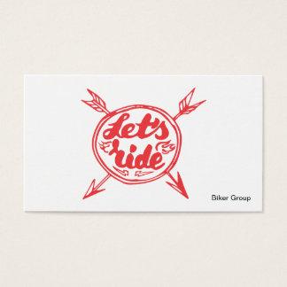Biker Group Business Card
