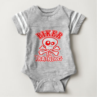 Biker In Training Baby Bodysuit