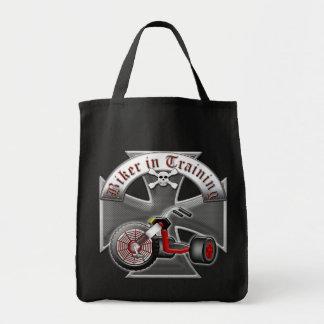 Biker in Training Tote Bag