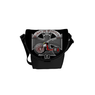 Biker in Training Courier Bags