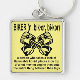 Biker (n) Definition: A Person Who Takes A Tank Of Key Ring