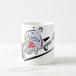 Biker Rat Coffee Mug
