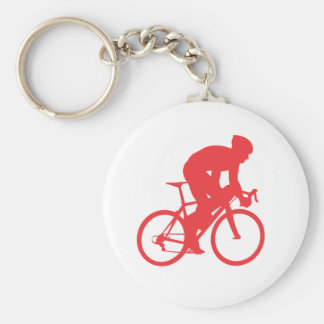 Biker Red key chain