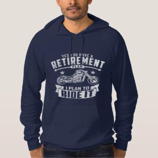 Biker Retirement Hoodie