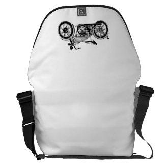 Biker   Rickshaw Large Zero Messenger Bag