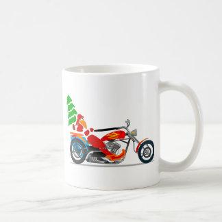 Biker Santa Coffee Mug