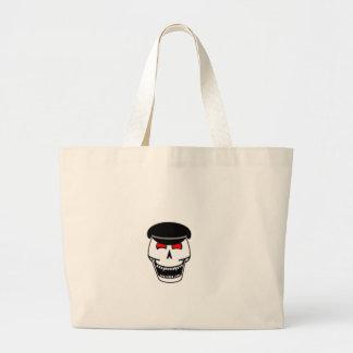 Biker Skull Canvas Bags