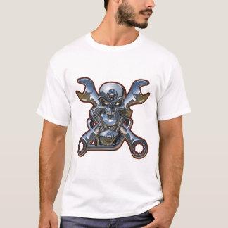 biker skull T-Shirt