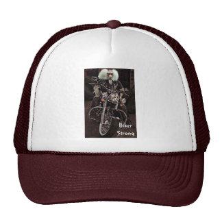 Biker Strong Trucker Hats