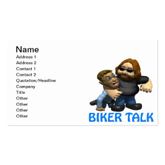 Biker Talk Business Card Templates