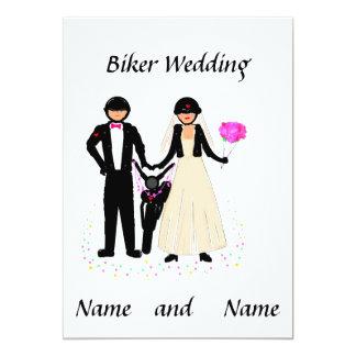 Biker Wedding Add details Card