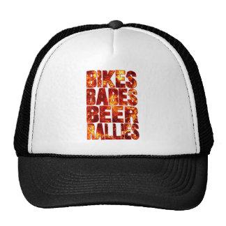 Bikes Babes Beer Rallies Cap