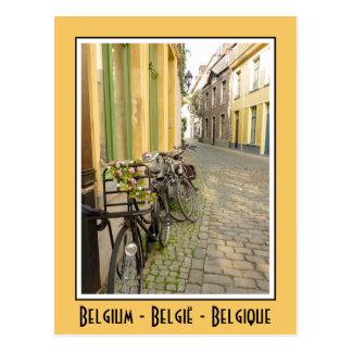 Bikes in Belgium Postcard