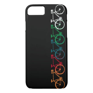 bikes of different colors iPhone 8/7 case