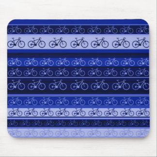 bikes on stripes mouse pads