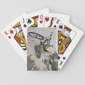 Bikes on the Beach Playing Cards