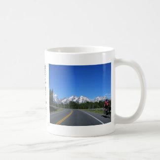 Biking Grand Teton National Park Mug